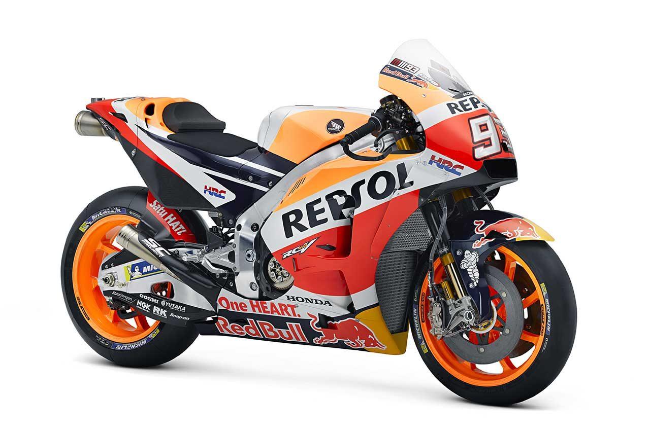 MotoGP:2018年型ホンダRC213V、空力カウルで「最大限のハンドリング」を実現