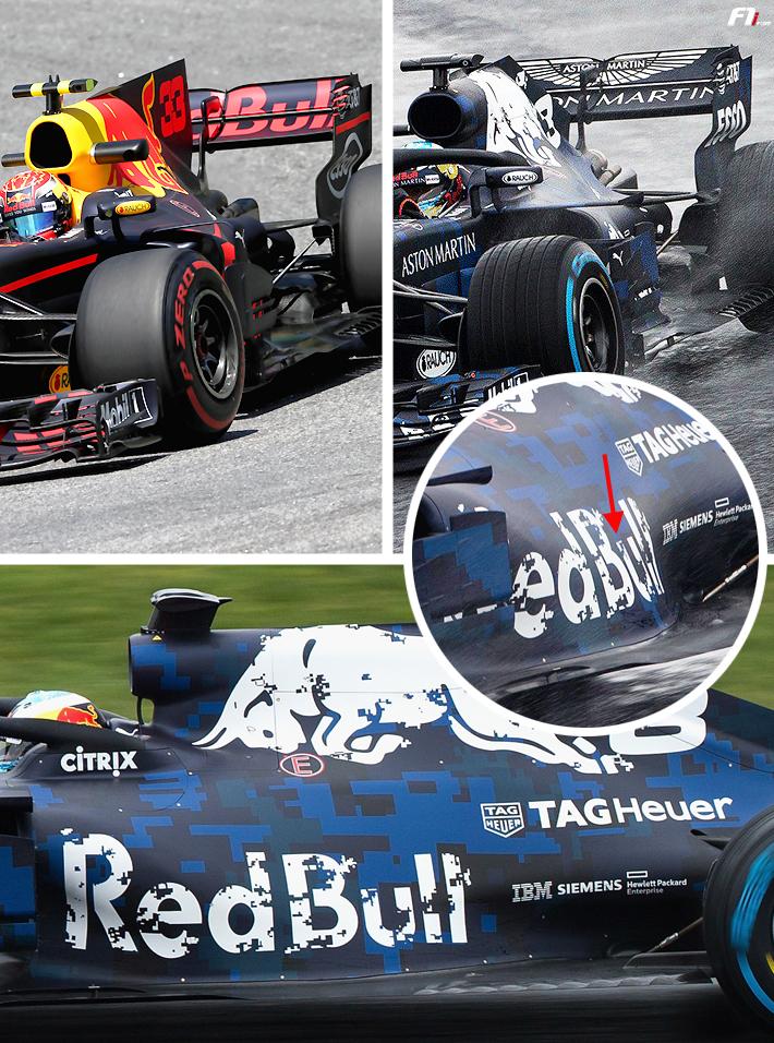 F1新車分析:レッドブルRB14