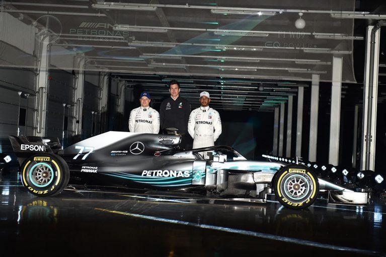 F1 | メルセデスF1、タイトル5連覇を目指すニューマシン『W09 EQ Power+』を正式発表