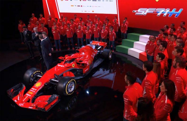 F1   フェラーリF1の2018年型『SF71H』:ロングホイールベースで王者メルセデスに挑む。25日にシェイクダウンへ