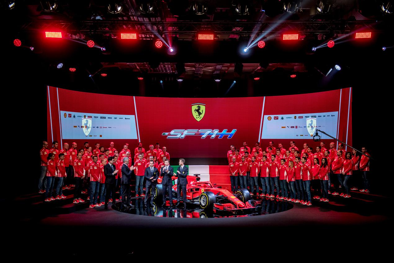 フェラーリF1が2018年型『SF71H』を発表