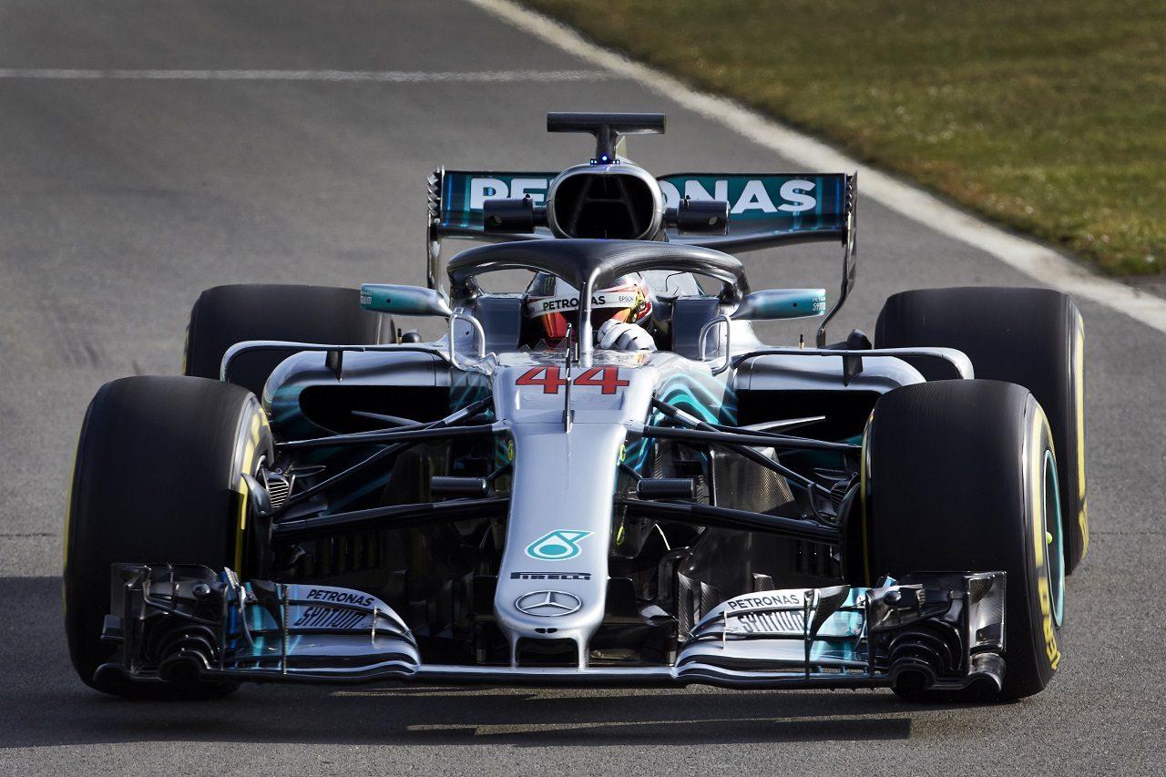 メルセデス、『F1 W09 EQ Power+』をシェイクダウン