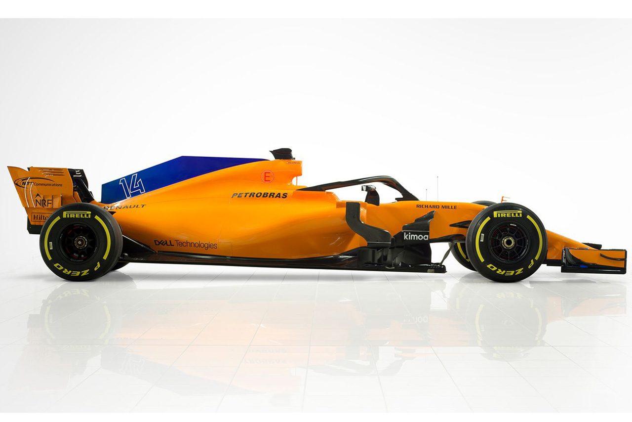 パパイヤオレンジカラーがついに復活。マクラーレンF1がニューマシン『MCL33』発表