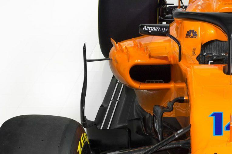 F1   【津川哲夫のF1新車チェック】崖っぷちのマクラーレンMCL33。狭小開口部でルノーPUをどこまで冷やせるか