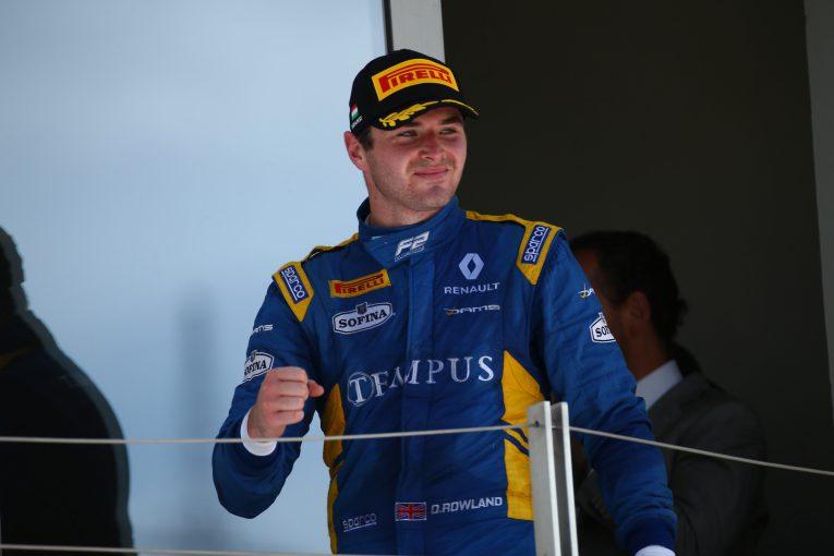 F1   ウイリアムズF1、F2レーサーのローランドをチームの公式ヤングドライバーに起用