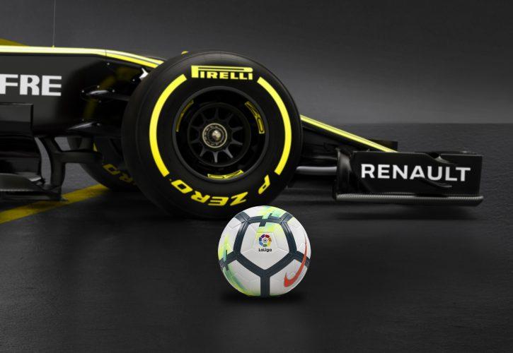 F1 | ルノーF1、スペインのトップサッカーリーグであるラ・リーガとパートナーシップ締結