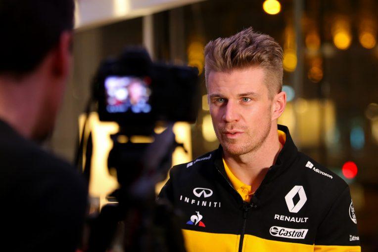 F1 | ヒュルケンベルグ、ルノーF1『R.S.18』でトップチームとの差を半減させたいと願う