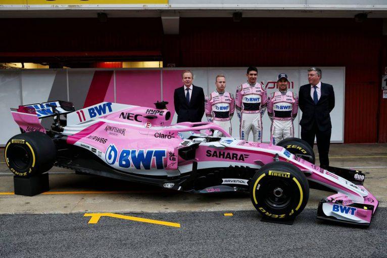 F1 | フォース・インディア、新車『VJM11』をバルセロナで初披露