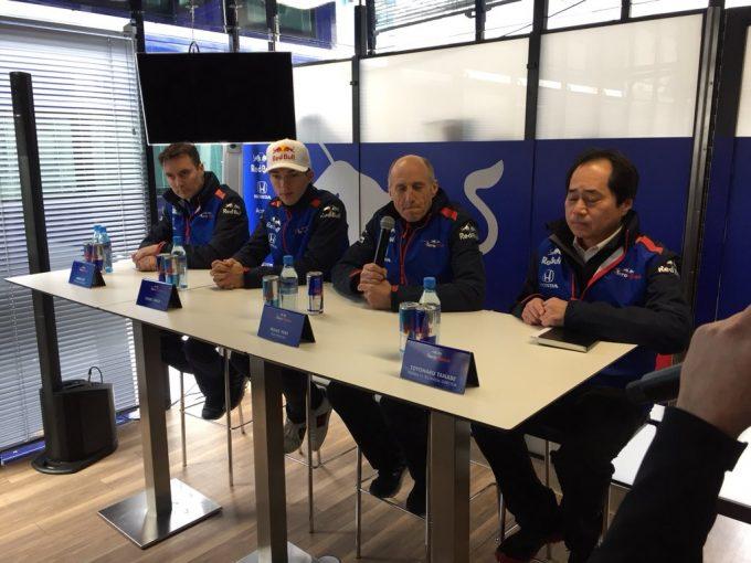 F1 | トロロッソF1代表、ホンダとのワークス関係に大きな期待「ハイレベルな戦いができるようガンバリマス!」