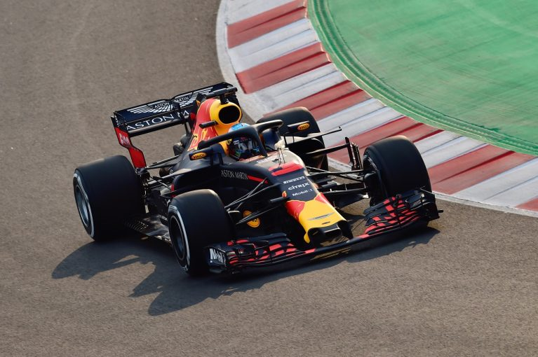 F1 | 【F1合同テスト1回目デイ1・タイム結果】リカルドがトップ、トロロッソ・ホンダは8位