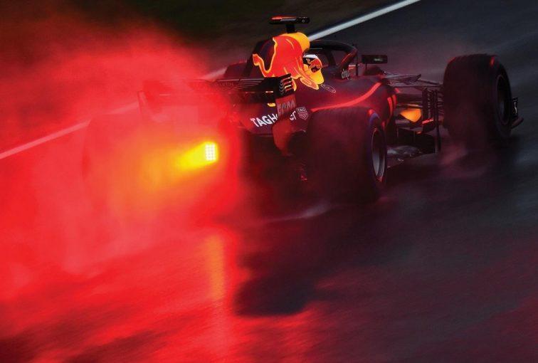 F1 | レッドブル&リカルドがタイム・周回数ともに首位。メルセデス、フェラーリが続く/F1合同テスト1回目デイ1