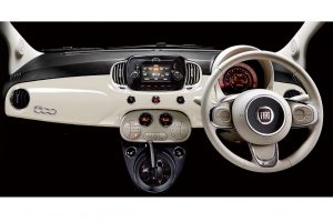 クルマ | 『フィアット500X』に待望の最新ユーコネクト採用。『500』の限定車も登場