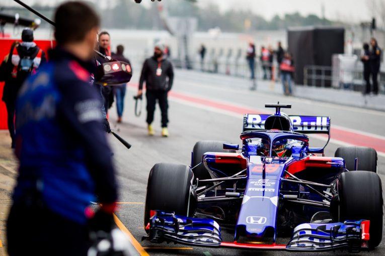 F1 | ホンダF1田辺氏「初日から93周走れたのは大きい。トロロッソとの開発作業は順調」/第1回テスト デイ1