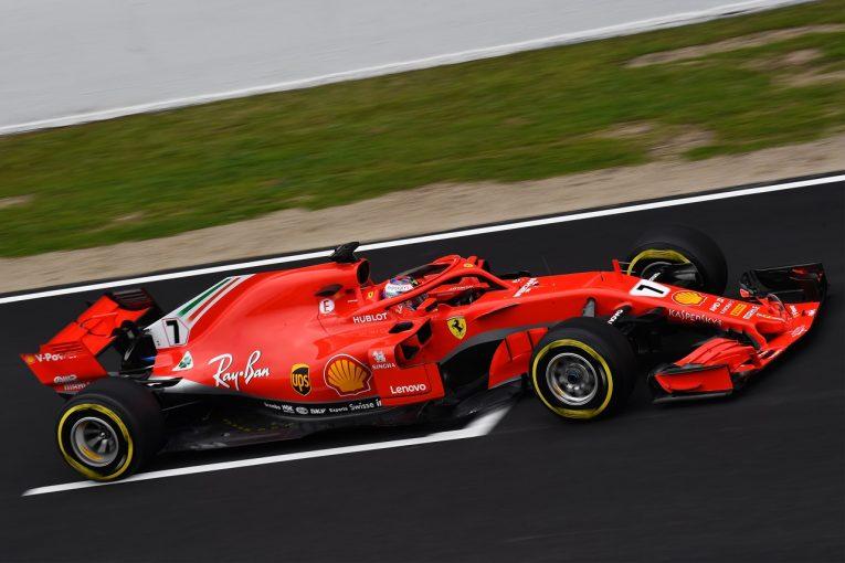 F1   ライコネン「フェラーリF1『SF71H』の第一印象は良いが、まだ評価は下せない」
