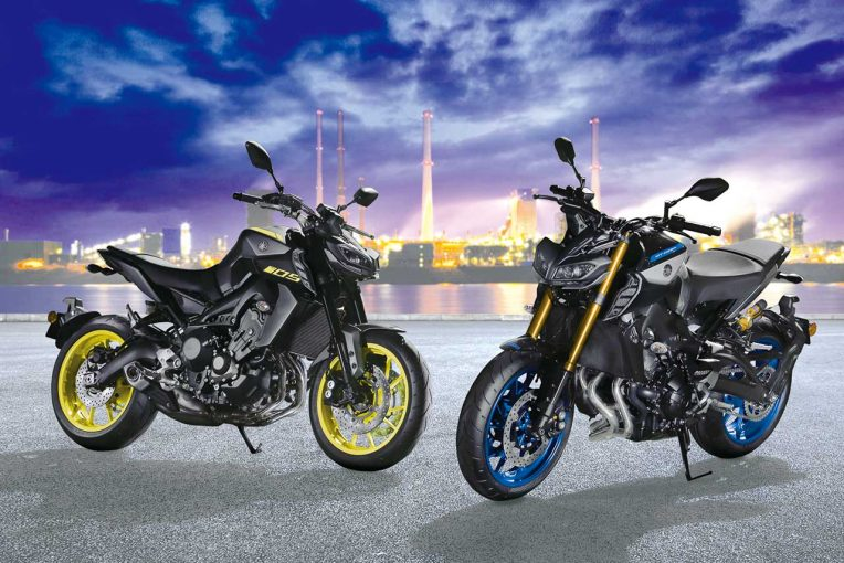 MotoGP | ヤマハMT-09 ABSに新色、上級モデルMT-09 SP ABSが追加。3月20日発売