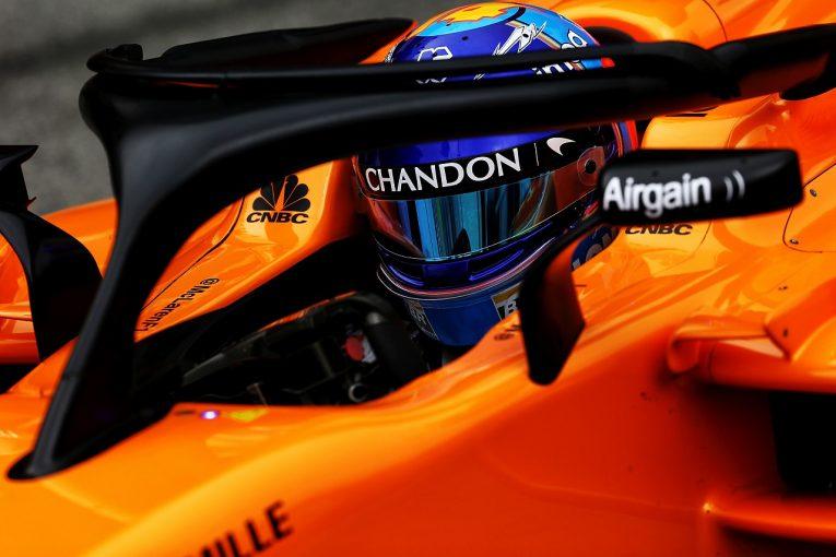 F1 | 2018年F1ヘルメットデザイン特集:カラー一新のアロンソ、トロロッソ勢はマシンに合わせて変更