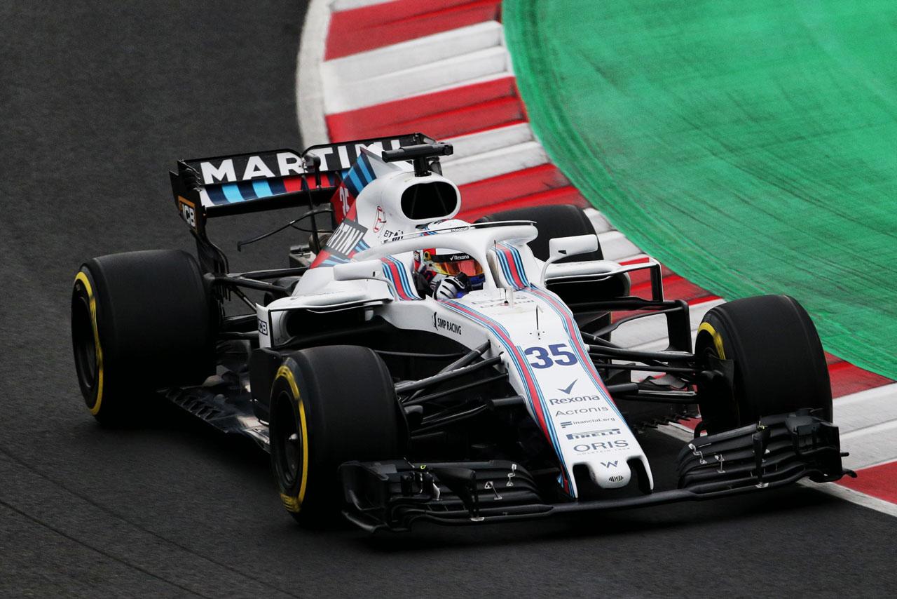 F1 | ウイリアムズ・マルティニ・レーシング 2018年