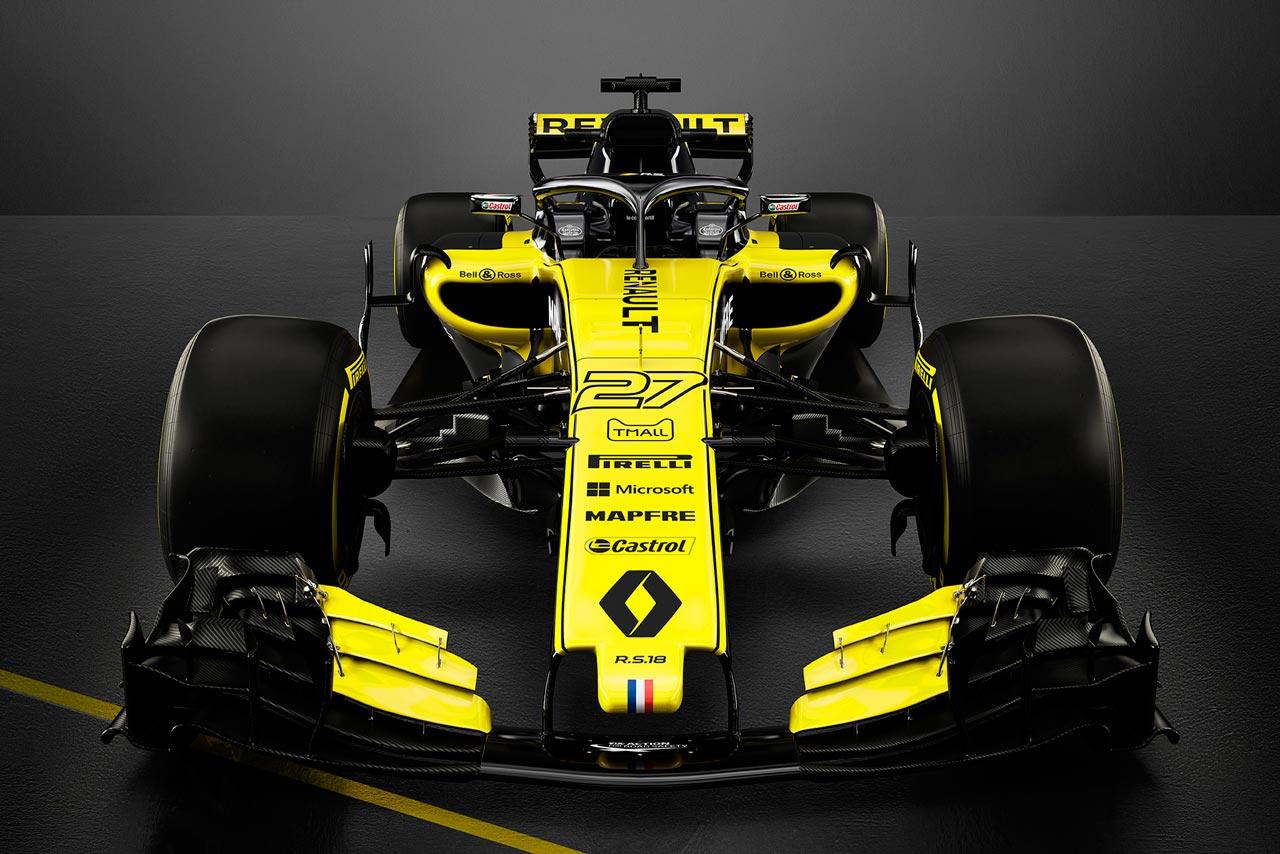 F1 | ルノー・スポール・フォーミュラワン・チーム 2018年