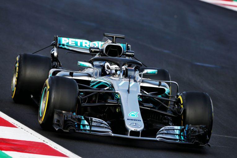 F1 | 【F1合同テスト1回目:デイ2午前タイム結果】ボッタスがトップ。マクラーレンが2番手につける