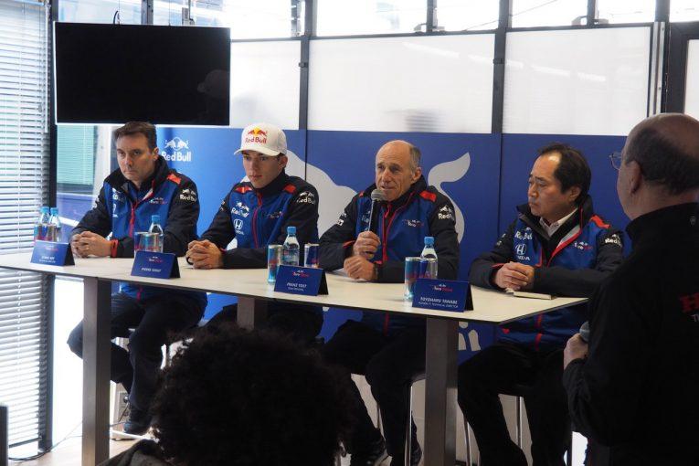 "F1 | トロロッソ・ホンダF1密着2日目:""あのチームのトラブル""を連想させる会見後のプレゼントに思わぬ反響"