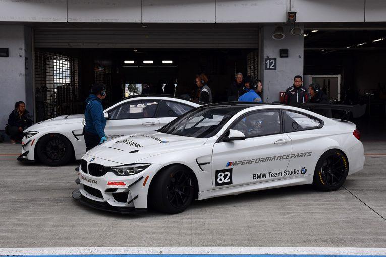 海外レース他   ブランパンGTアジアに挑むBMW Team Studieが富士でM4 GT4をシェイクダウン