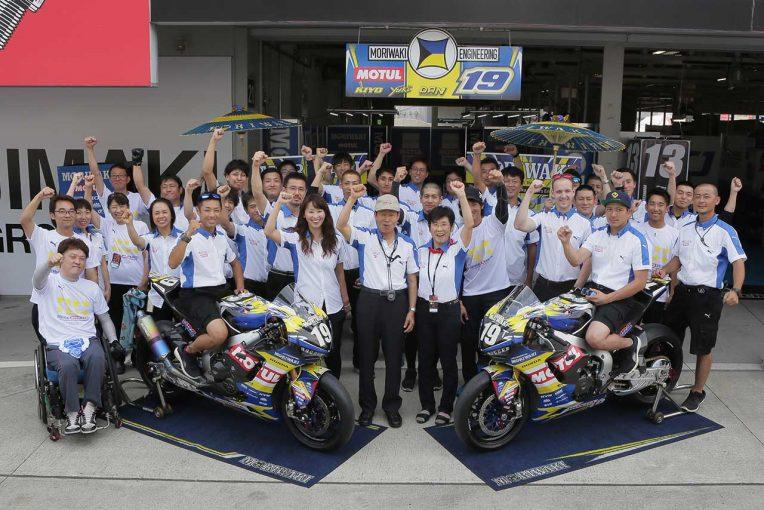 MotoGP   モリワキがピレリ市販タイヤで挑む全日本ロードJSB復帰3年目。森脇監督、2018年タイヤに自信