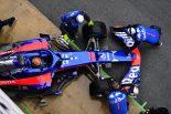 F1 | トロロッソF1首脳「悪天候でSTR13・ホンダの走行距離を伸ばせず。遅れをできるだけ早く取り戻したい」
