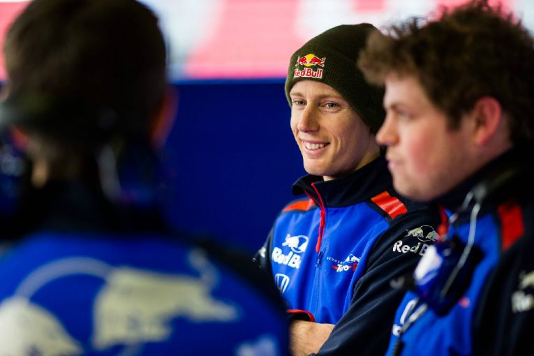 F1 | トロロッソ・ホンダF1のハートレー「マシンの感触は良く、信頼性も申し分ない。第1回テストはポジティブ」