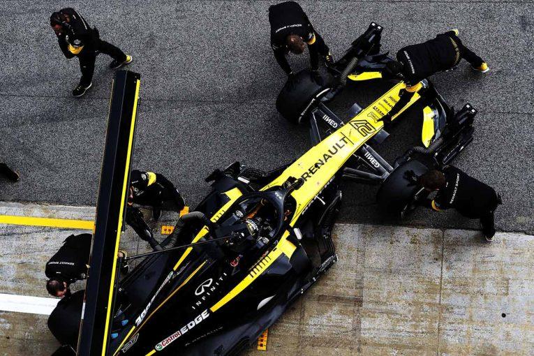 F1   ルノーF1「PU性能は昨年の最終戦と同じレベルを維持」。年間3基制限によるパワー引き下げを否定