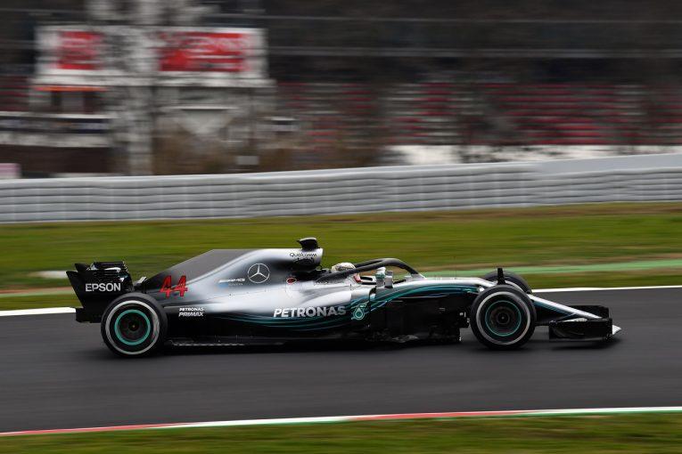 F1 | 【F1合同テスト1回目デイ4・タイム結果】ハミルトンが最速。トロロッソ・ホンダのガスリーは最多周回を走行
