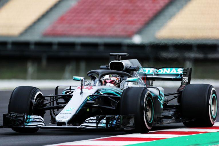 F1 | F1合同テストで総合トップのハミルトン、最終日は「全体的にポジティブな感触」