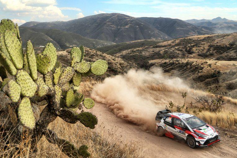 2017年、トヨタはラリー・メキシコ特有の暑さと空気の薄さに苦しめられた