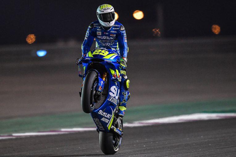 MotoGP | MotoGP:スズキのイアンノーネ、カタールテスト2日目トップ。中上はルーキー筆頭譲らず