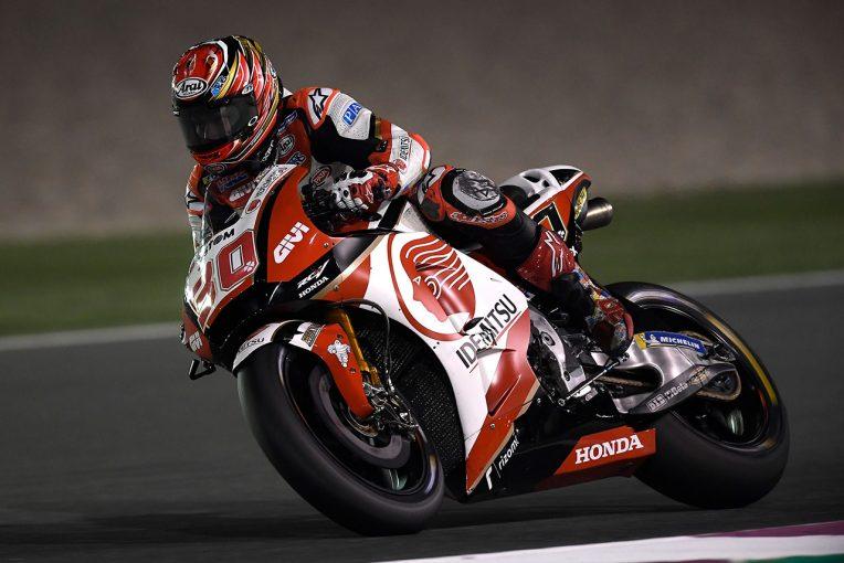 MotoGP | 中上、MotoGPカタールテスト2日目は転倒もルーキー勢首位。最終日は「トップ10に進出したい」