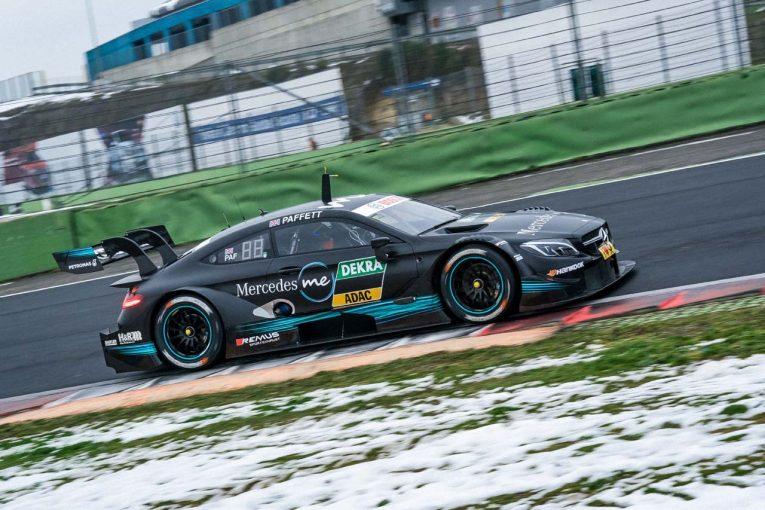 海外レース他   DTM公式テスト:3メーカーの新型マシンが揃い踏み。メルセデスはクラッシュで走行中止