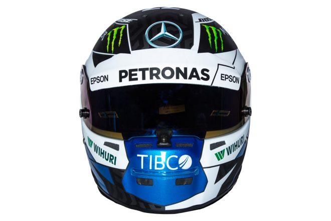 F1 | バルテリ・ボッタス(Valtteri Bottas) 2018年のヘルメット1