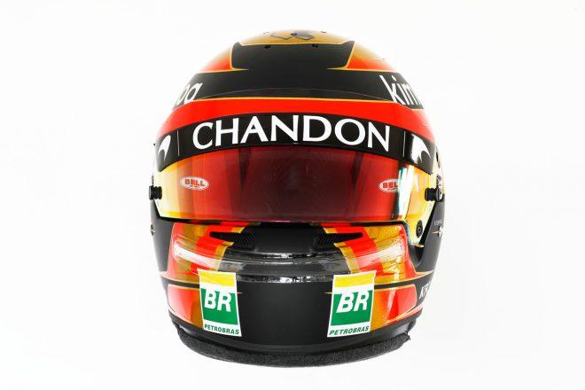 F1 | ストフェル・バンドーン(Stoffel Vandoorne) 2018年のヘルメット1