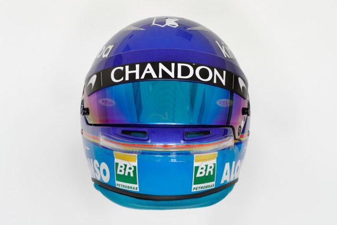 F1   フェルナンド・アロンソ(Fernando Alonso) 2018年のヘルメット1