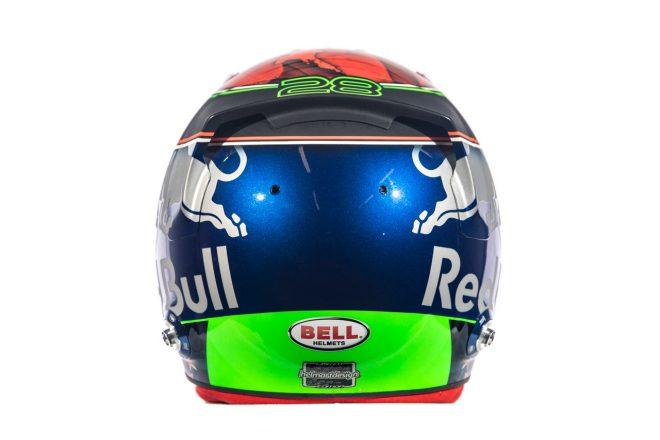 F1   ブレンドン・ハートレー(Brendon Hartley) 2018年のヘルメット2