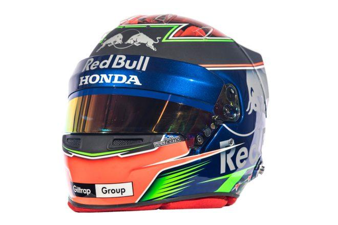 F1   ブレンドン・ハートレー(Brendon Hartley) 2018年のヘルメット1