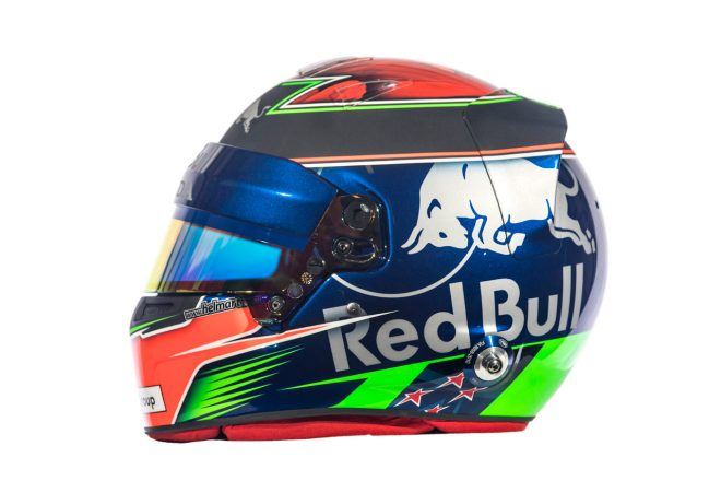 F1   ブレンドン・ハートレー(Brendon Hartley) 2018年のヘルメット3