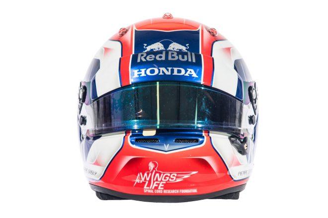 F1 | ピエール・ガスリー(Pierre Gasly) 2018年のヘルメット2