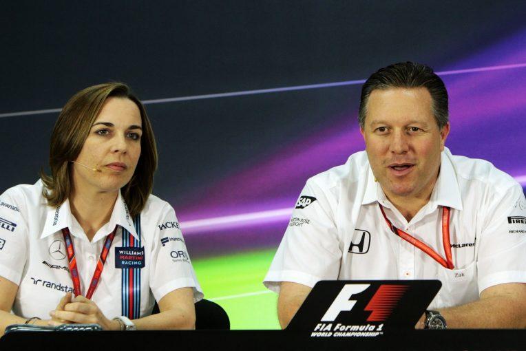 F1   ウイリアムズF1、マクラーレンによるスポンサー引き抜きを警戒。「協定を破るなら全力で阻止する」と宣言
