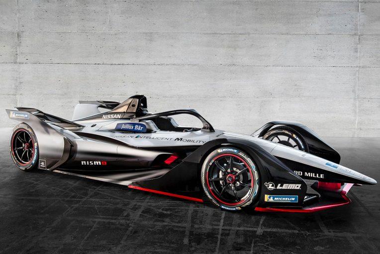 海外レース他 | 2018年末からフォーミュラE参戦のニッサン、マシンカラーリングコンセプトをジュネーブで世界初公開