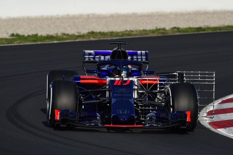 F1第2回テストがスタート。トロロッソ・ホンダ、初日はガス ...