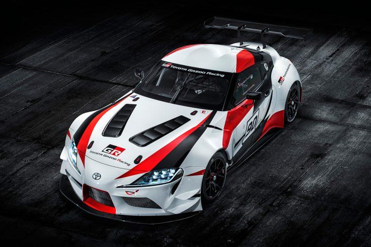 クルマ | トヨタ、ジュネーブショーで『GRスープラ・レーシングコンセプト』を発表。市販車の発表はなし