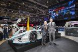 ジュネーブモーターショーで公開された第2世代フォーミュラEマシン