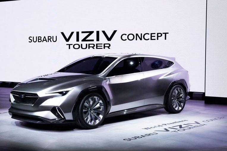 クルマ   スバル、ツアラーがテーマの新コンセプトカー『SUBARU VIZIV TOURER CONCEPT』を公開