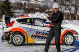 ラリー/WRC | エリオ・カストロネベスも氷上ラリークロスに初参戦。「笑いが止まらないよ」