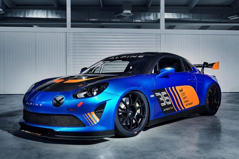 ル・マン/WEC   アルピーヌ、ジュネーブショーでA110のGT4カーを発表。シグナテックが開発